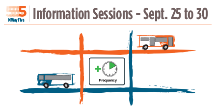 MiWay Information Sessions - Give us your feedback at miway.ca/mivoice