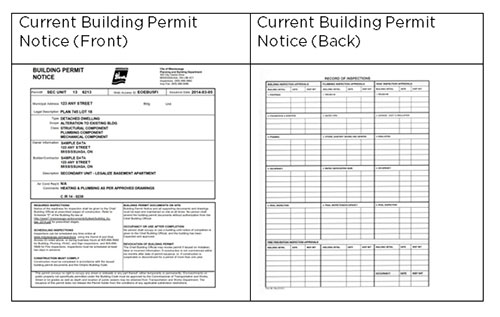 City Of Mississauga Building Permit Application